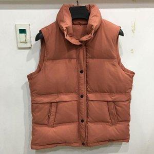 Inverno Down Vest Cappotto 2020 Semplice solido Plus Duck Duck Duck D'anatra bianca Fashion Wide Big Size Senza maniche Gilet caldo SweatCoat1