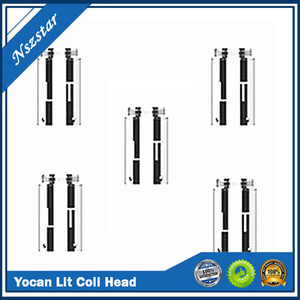 100% Original Yocan Lit QDC Coil Head Replacement Coils Atomizer Core Quatz Dual Coils Yocan Evolve For wax vape pen