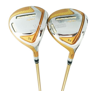 Nuevos Hombres Clubes de Golf 4 Star Honma S-07 Golf Wood 3/5 Loft Fairway Madera Grafito Shaft Club Secover Envío gratis