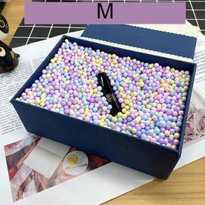 Boules en mousse Craft décoratif Boule-cadeau Boule-cadeau Box DIY Mariage Noël Bouteille Vase Vase Filleur Macaron Couleur Styrofoam Ball VTKY2167