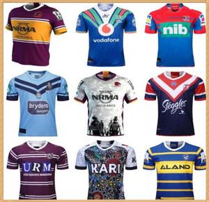 2019 2020 Brisbane Broncos Parramatta Enguias Australis Sydney Roosters Rugby Jersey Holden Blues Knights Warrior Indígena Mar Eagles