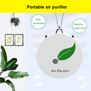 Necklace Air Purifier Mini USB portable personal wearable necklace negative ionizer Anion Air cleaner Air Freshener PM 2.5