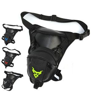 Men Waterproof Oxford Drop Leg Bag Waist Fanny Pack Cross Body Shoulder Thigh Hip Belt Bum Pouch Tactical Motorcycle Riding Bags