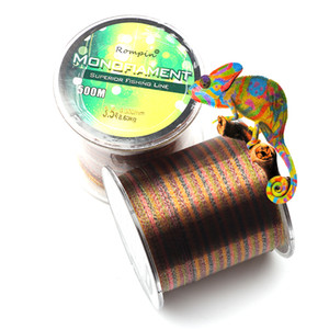 500M MultiColor Nylon fishing lines Invisible Spot Speckle Monofilament Fly Fishing Thread Line Carp Fishing Accessories