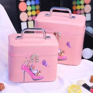 New Big Capacity Receive Bag High Quality Exquisite Simple Portable Toiletries Bag Travel Wash Gargle Lovely Cosmetic Case