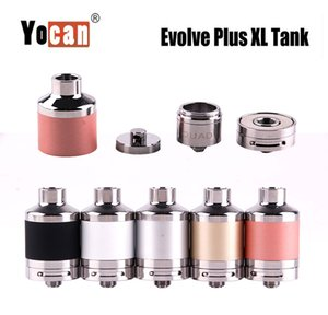100% Original Yocan Evolve Plus XL Wax Coil Head QUAD Coil Quatz Rod Coils Fit Authentic Evolve Plus XL Pen Kit&Tank