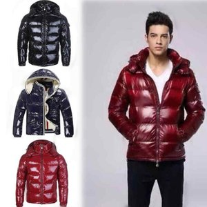 Fashion 2021 Luxury Men Casual Down Jacket Down Coats Mens Outdoor Warm Feather Man Winter Coat Outwear Jackets Parkas FY4350
