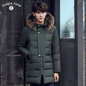 2020 New Winter Jacket Men Big Real Fur Collar Hooded Duck Down Jacket Thick down jacket men warm coat 2XL 3XL 1632 Y1120