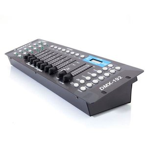 Hot selling New 192CH DMX512 DJ LED Black Precision Stage Light Controller (AC 100-240V) Metal high quality Material