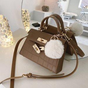 Simple Womens Popular Small Bag 2020 New Trendy Fashion Trending Portable Messenger Bag All-Matching Shoulder Birkin Bag