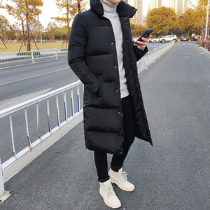 Mens Winter Long Down Jackets Coat Man High Quality Casual Fashion Pike Plus Size 4xl Men Thick Windbreaker Jacket