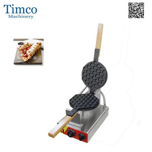 Bubble Waffle Maker Mini Pancake Machine Freeshipping Hong Kong Oeuf Gaufres de gaufres