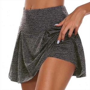 Fitness Skirt Women Sports Short Tenis Skirt Tennis Pants Skort Breathable Badminton Sports Exposure Short