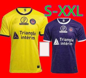 جديد 20 21 FC Toulouse Soccer Jerseys Home Away Third 2020 Sangare 17 Diakite 19 KONE 34 Gradel 7 قال 25 Sylla 12 Jersey Football Shirts