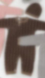 Newborn Младенческая Детская Ромпер Девушка Мальчик Весна Осень Теплый Одеял Дети Дети Детские Детские Внутренние Вязаные Плавающие Комбинезон Шляпа 2 Шт. Наряды 0-24м