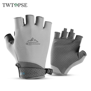 TWTOPSE Men Golf Gloves Coolmax With Leather Left Right Hand Women Soft Breathable Thin Anti-UV Golf Gloves Outdoor Sports Glove 201026