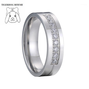 Never fade Ladies Alliances couple wedding rings for women cubic zirconia stone marriage anniversary finger ring1