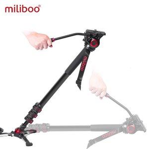 Miliboo Portable Professional DSLR Монопод Монопод Палка с мини-штативным стендом Базовый штатив Ballhead для Canon Nikon 188 / 80см