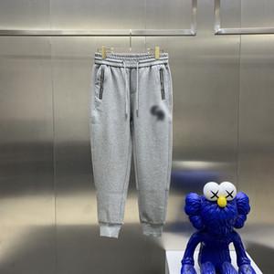 Европейские размеры мужские и женские повседневные спортивные брюки азиатские большой размер высококачественные дикие дышащие плюс бархатные толстые случайные штаны29
