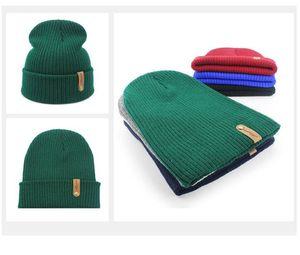 2020 Новые мужские и женские осень и зима вязаные шерстяные шапочки шапки теплые шляпы