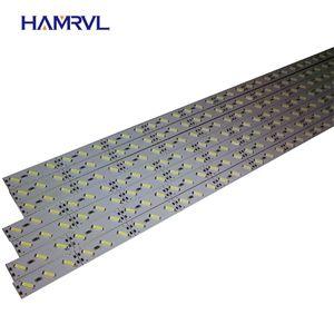 10pcs Lot 0.5m LED Bar Light Smd 5050 5730 7020 8520 12V Rigid Strip White Warm Cold RGB Under Cabinet Kitchen Channeles Alu Q1121