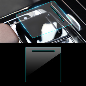 Car Accessories Media Button Mouse Film Anti-scratch Protective Sticker Decoration for Mercedes-Benz A-Class W177 V177 2018-2021