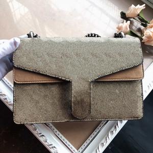 Сумки замши Высококачественные сумки на плечо Женские сумки мода сумка на плечо цветок стиль классическая леди сумки