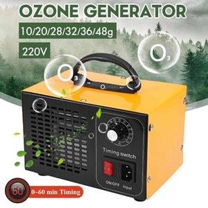 Ozone Generator 48g h 32g h Machine With 60s Timing Controller Air Purifier Disinfection Sterilization Cleaning Formaldehyde