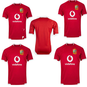 Disponibile! 2020 2021 British Irish Lions Rugby Jersey 20 21 British Lions Rugby Home Training Shirt Dimensione S-5XL