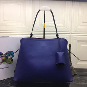 P 2019 ladies leather fashion handbag shoulder bag 1BA249 35.5X26X16