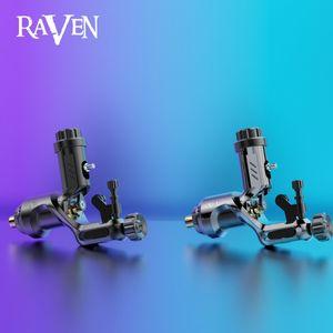 Dragonhawk Raven II Tattoo Gun Rotary Motor Tattoo Machine Liner Shader Gun Soft Hard Adjustable WQ888