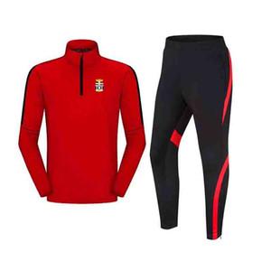 20-21 FC Cartagena Top Adult Kids training tracksuit winter long sleeve Soccer sportwear Football sets children sport