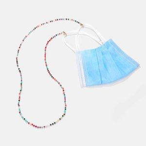 Gesichtsmaske Verlängerung Glase Lanyard Praktisch Bequeme Sicherheitsmaske Rest Ohrhalter Seil Hängen auf Halsschnur für Maske Anti-Verlust-Riemen WQ359