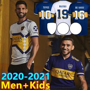 2020 2021 Maglia da calcio Boca Juniors Home Away 20 21 Boca Juniors TEVEZ MARADONA MOURA ABILA REYNOSO DE ROSSI Maglia da calcio sportiva JRS