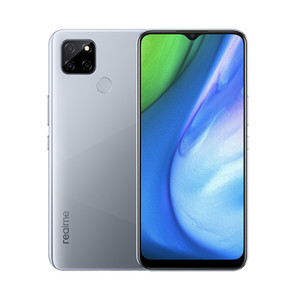 "Original Realme V3 5G Mobile Phone 8GB RAM 128GB ROM MTK 720 Octa Core Android 6.5"" Full Screen 13MP AI HDR Fingerprint ID Smart Cell Phone"