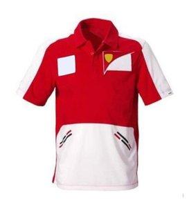 T-shirt da gara da corsa F1 T-shirt Estate risvolto Polo Shirt da moto Asciugatura rapida A MANICA A MANICA BREVE