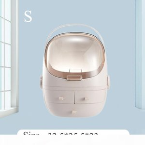 New-Fashion Acrylic Cosmetic Case Women Travel Toiletry Makeup Bag Home Decor Organizer Storage Box