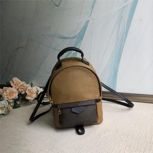 مصغرة الحجم حقيبة الظهر 2 ألوان الأزياء المدرسية في الهواء الطلق السفر إلكتروني المطبوعة الحقائب المدرسية للنساء