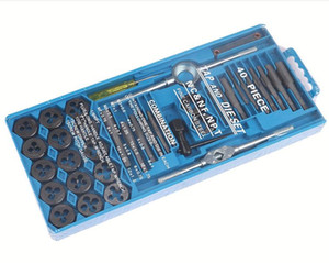 Многофункциональный Metric Metric Tap и Die Set / Fine Thread / Высокоуглеродистая сталь / Режущий инструмент Резак