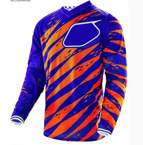 Racing Speed ​​Surrender Bike Mountain Bike Ropa de montaña Camisa de manga larga Hombre Verano Off-Road Motocicleta Traje de carreras Camiseta transpirable