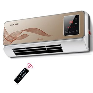 220V Household Wall-mounted Electric Heater Waterproof Energy-saving 3rd Gear PTC Ceramic Heating Air Conditioner for Winter
