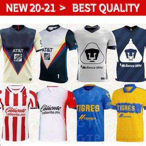 20 21 Club America Cruz Azul Soccer Jersey 2020 Guadalajara Chivas Tijuana Unam Tigres Monterrey Troisième Liga MX Football Shirts Santos Laguna