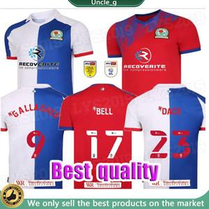 2020 2021 Blackburn Rovers Soccer Jerseys Armstong Brereton Holtby Dack Gallagher Lenihan Johnson Custom 20 21 Home Football Shirt