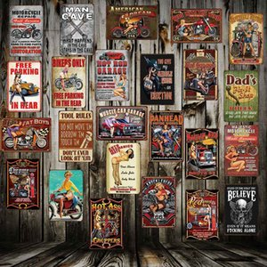 [ Mike86 ] Garage Man Cave Motor Hot Rod Metal Sign Home Store Decor Vinage wall decor shabby chic Poster Art 20*30 CM