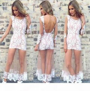 Summer Dress 2014 New Vintage Sexy See Thru Sheer Open Backless Lace Mesh Mermaid Maxi Long Gown Cocktail Bodycon Dress Vestidos