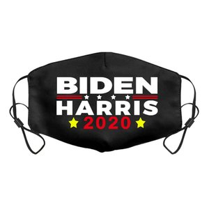 Hot 2021 Joe Biden Harris Black Cotton Mask President Elect Supplies Dustproof Breathable Mask 3 Styles Party Mask Free Shipping PPD2897