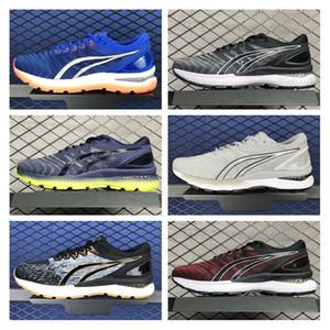 Gel Kayano 27 360 Sneakers per gli uomini formatori Scarpe da corsa uomo uomo sportivo scarpa maschile jogging chaussures addestramento atletico Hommes BAS