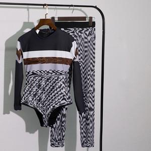 럭셔리 여성 스포츠 수영복 디자이너 Bodysuit 바지 정장 고품질 비키니 수영복 2 조각 세트 수영복