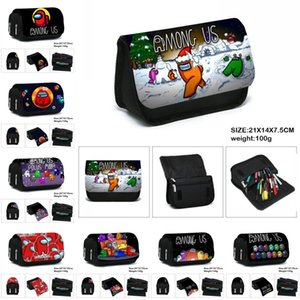 15 Colors Games Among Us Creative Cartoon Pencil Case for Kid Teenager Boys Girls Student Cute School Birthday Gift Pen Case FY9306