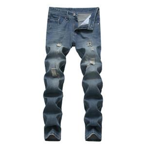 Мужские джинсы хлопчатобумажные японские и корейские длинные джинсы повседневные стильные джинсы мода большой размер 28-42